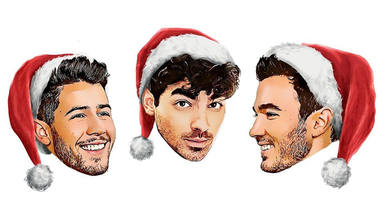 "Jonas Brothers cantan a la Navidad con ""Like It's Christmas"""