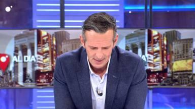 El momento más complicado de Joaquín Prat en televisión tras conocer en directo la muerte de su tía