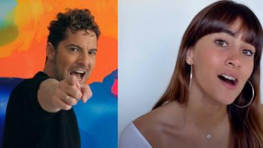 """David Bisbal lanza nueva versión de """"Si Tú La Quieres"""" con Aitana y un videoclip desde sus casas"""