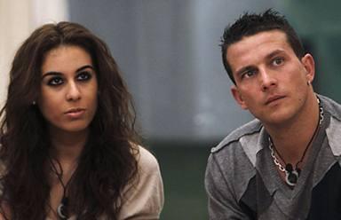 Indhira y Arturo Requejo estuvieron juntos dentro de la casa de Gran Hermano