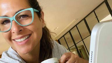 Nuria Roca muestra su primera vez en television
