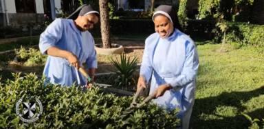 El aplaudido baile de las monjas de San Miguel de Trujillos