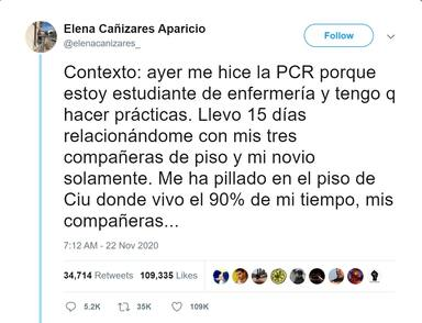 La surrealista historia de Elena Cañizares