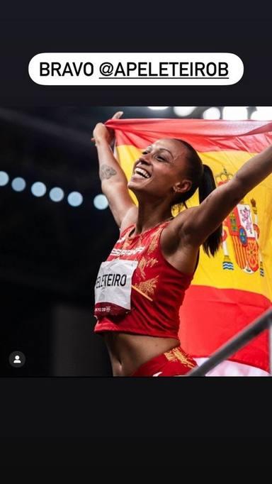 La felicitación de Kiko Rivera a Ana Peleteiro por la medalla de bronce en los Juegos Olímpicos de Tokio 2020