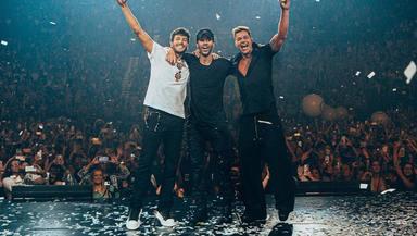 Enrique Iglesias y Ricky Martin arrancan su gira norteamericana con Sebastián Yatra como invitado estrella