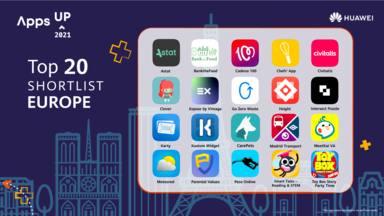 CADENA 100, elegida en Apps UP 2021 Huawei entre las 20 mejores apps de Europa: ¡vótanos para ser la ganadora!