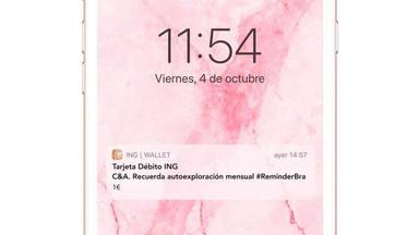 The Reminder Bra: La campaña de C&A para concienciar de la autoexploración en la prevención del cáncer de mama