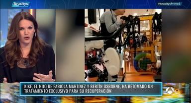 Fabiola Osborne habla sobre la dura rehabiliación de su hijo Kike y la bonita relación con su hermano Carlos