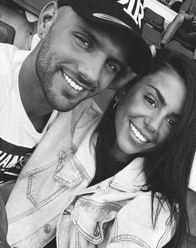 Albert Barranco y su novia Carla en una imagen de sus redes sociales