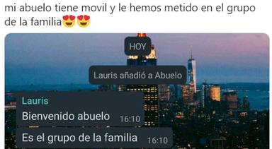 Twitter: Viral abuelo whatsapp