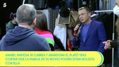 Jorge Javier sale a calmar a Anabel Pantoja