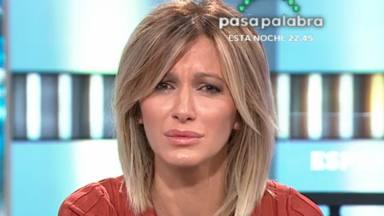 Susanna Griso rompe a llorar en 'Espejo Público'