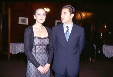 Rocío Carrasco y Antonio David Flores en una imagen de cuando eran pareja