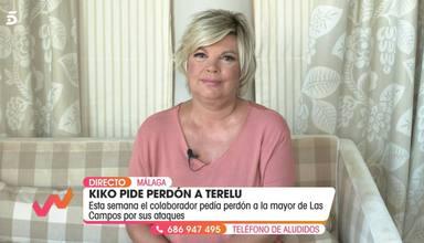 Terelu Campos en su intervención en Viva la vida