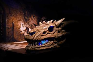 Cráneo de dragón de Juego de Tronos