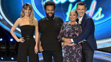 Edurne, Carlos Jean, Isabel Pantoja y Jesús Vázquez en la presentación de 'Idol Kids'