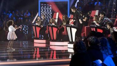 El despiste de Yolaini, en 'La Voz Kids', eclipsa la última fase de Asaltos