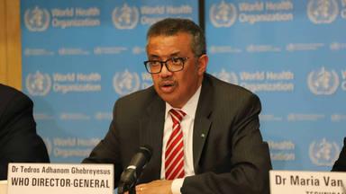 El director de la OMS lanza un comunicado para reducir la compra masiva de mascarillas