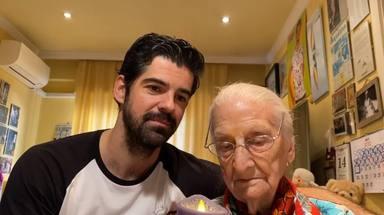 El minuto de silencio entre Miguel Ángel Muñoz y la tata