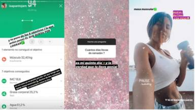 Isa Pantoja revela su peso en Instagram