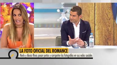 Alfonso Merlos lleva puestas unas gafas que le regaló Marta López cuando estaban juntos