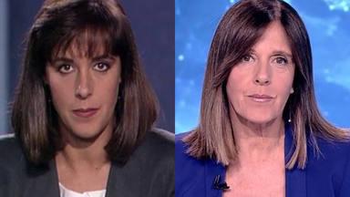 Ana Blanco antes y después en los últimos 30 años en TVE