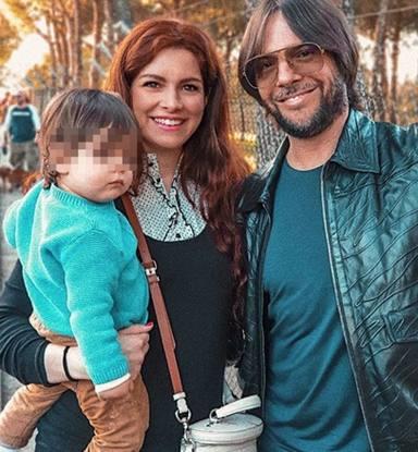 Joaquín Cortés y su bonita familia