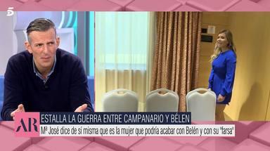 Joaquín Prat apoya a María José Campanario en su guerra con Belén Esteban