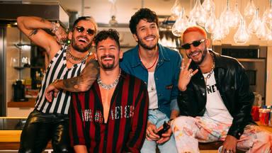 Mau y Ricky unen fuerzas con Sebastián Yatra y Mora en una fiesta a las '3 de la mañana'