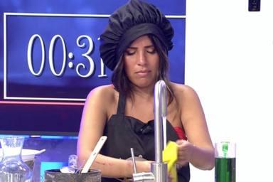 Chabelita Pantoja rompe a llorar en 'La última cena' al hablar de cómo está su relación con su madre