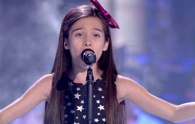 """La niña que conquistó """"La Voz Kids"""" da el salto a Eurovisión"""