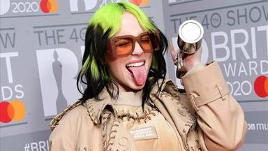 Billie Eilish també és la protagonista dels Brit Awards