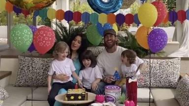 Sergio Ramos y Pilar Rubio celebran el sexto cumpleaños de su hijo Sergio Jr