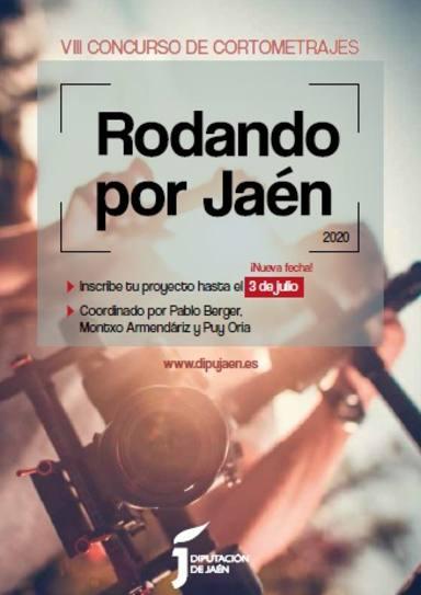 Cartel de Rodando por Jaén