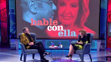 Jorge Javier Vázquez y María Teresa Campos en una de las últimas emisiones del 'Deluxe'
