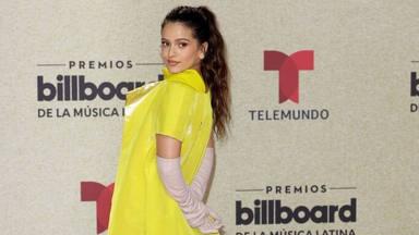 Rosalía en la alfombra roja de los Billboard Latin Music Awards 2021