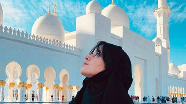 ¿Qué hace Camila Cabello en Emiratos Árabes?