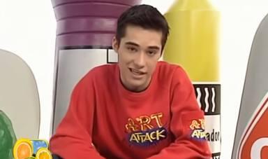 Jordi Cruz presentó Art Attackentre 1997 y 2004