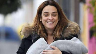 Así están siendo los primeros días de Toñi Moreno con su hija Lola
