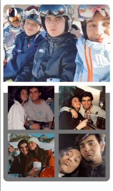 La romántica felicitación de Victoria Federica a Jorge Bárcenas