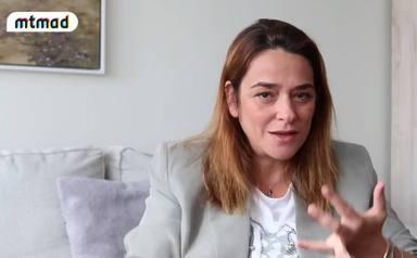 Toñi Moreno corazón dividido entre ser periodista y ser madre
