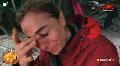 Ana María Aldón se queda sola en Supervivientes