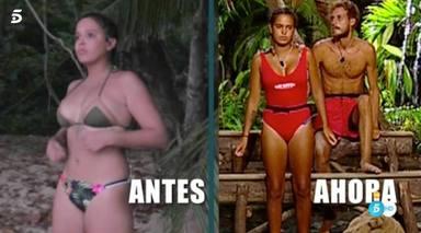 Gloria Camila no consiguió adelgazar en Supervivientes
