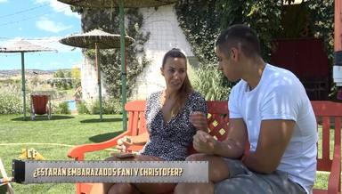 Fani informa a Christofer de un posible embarazo