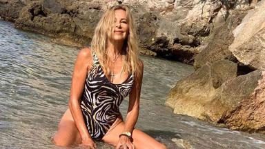 Ana Obregón y su posado en verano
