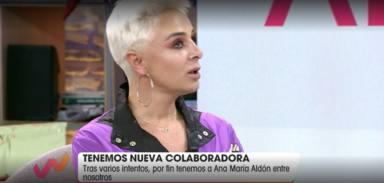 Ana María Aldón, la nueva colaboradora de Viva la vida
