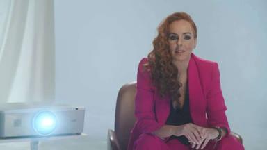 Rocío Carrasco en una imagen de su docuserie, Rocío, contar la verdad para seguir viva