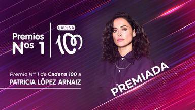 Patricia López Arnaiz, galardonada en los Premio Nº 1 de CADENA 100