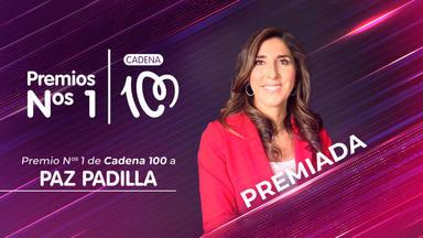 Paz Padilla, Premio Nº 1 de CADENA 100 por llevar el humor por bandera durante toda su carrera