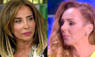 """Sale a la luz una conversación inédita entre Rocío Carrasco y María Patiño en 'Sálvame': """"¿En serio, María?"""""""